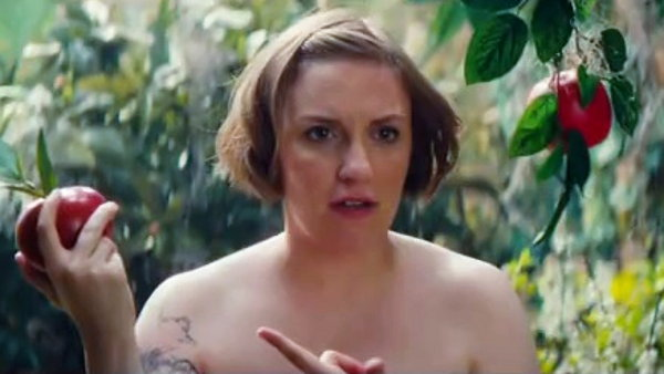 Girl-in-Garden-of-Eden-Bible-Movie-on-Saturday-Night-Live